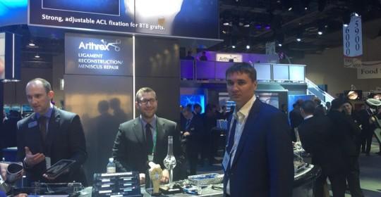 Съезд американских хирургов-ортопедов «AAOS-2015», Лас-Вегас, март 2015
