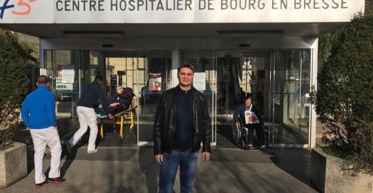 Стажировка по эндопротезированию в клинике Флерьа (Hôpital de Fleyriat), Франция ноябрь 2016
