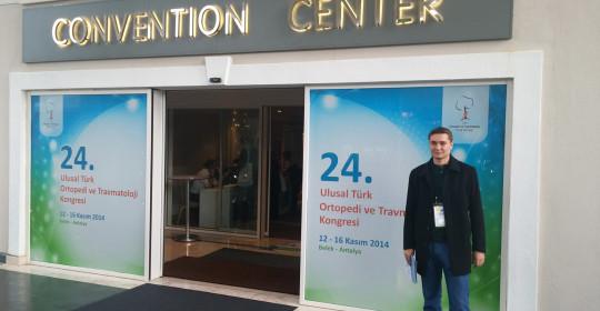 Конференция ортопед-травматологов, Анталия, ноябрь 2014