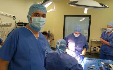Курс эндопротезирования, Клиника Матильда-Руан, Франция, октябрь 2015