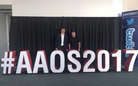 Ежегодное собрание Американкой академии ортопедических хирургов «AAOS2017», Сан Диего, Калифорния