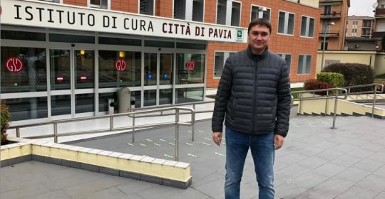 Стажировка по эндопротезированию в клинике Instituto di Cura citta di Pavia, Италия  ноябрь 2018